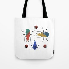playful insects Tote Bag