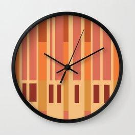 All is Orange Wall Clock