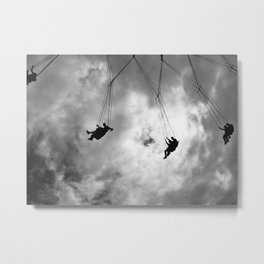 Up in the Sky Metal Print