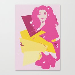 Sana Canvas Print