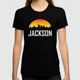 Sunset Skyline of Jackson MS T-shirt
