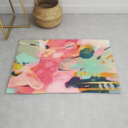 spring moon earth garden Rug