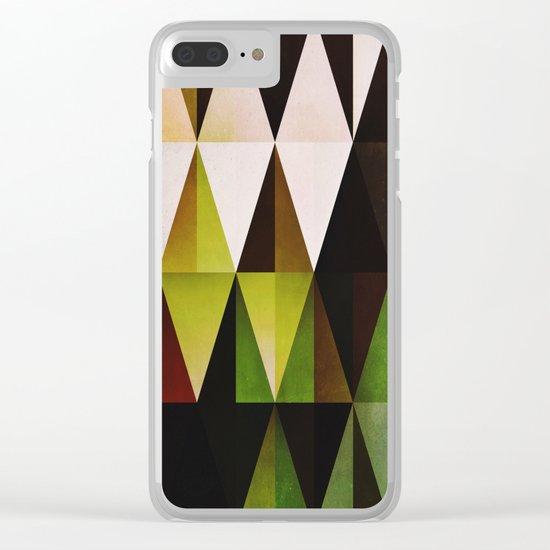 green yyyr Clear iPhone Case