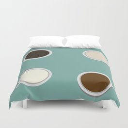 #coffeelove Duvet Cover