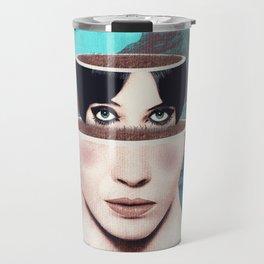 Matrioska Girl / Surrealism Travel Mug