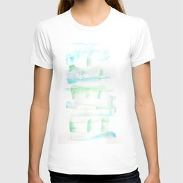 171122 Self Expression 1| Abstract Watercolors T-shirt