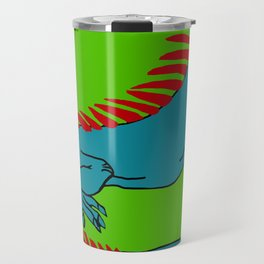 The Phenomenal Iguana Travel Mug