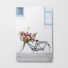 Bycicle Metal Print
