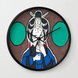 The Chubby Geisha  Wall Clock