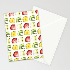 Fruit Squares Stationery Cards