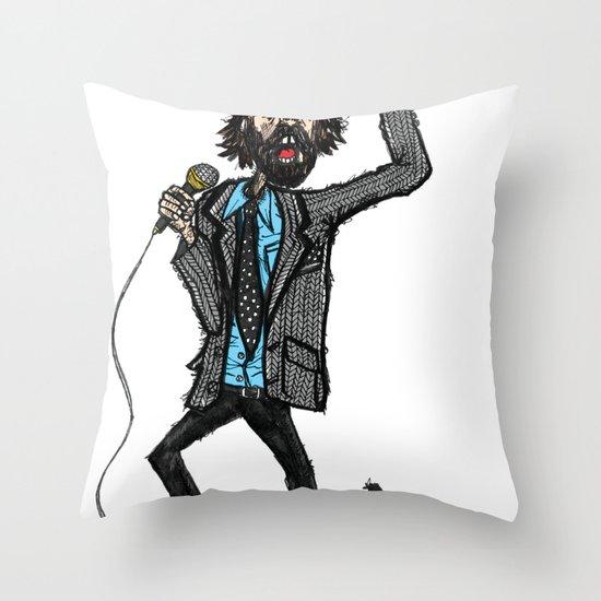 Jarvis Cocker Pulp Throw Pillow
