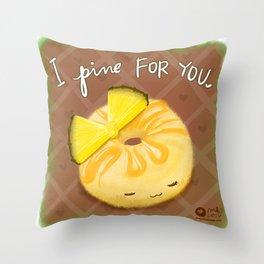 Pining Throw Pillow
