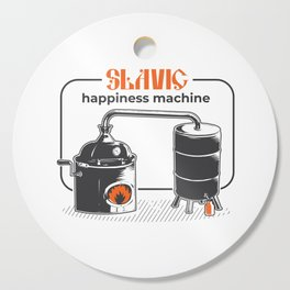 Slavic Happiness Machine Cutting Board