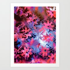 Pink Dubbed Art Print