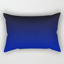 Cobalt blue Ombre Rectangular Pillow