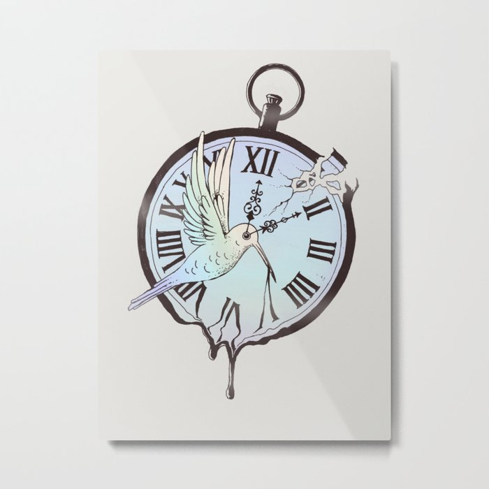 Why Waste Time (If We're Not Long for This World)? Metal Print