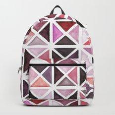 Geometric watercolor Backpack