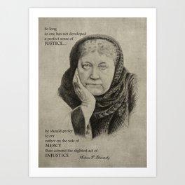 Blavatsky Art Print