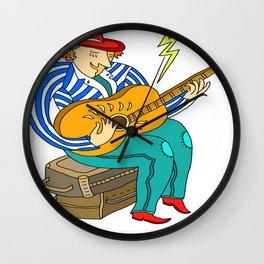 It's a Folk Singer, A Folk Folk Singer Wall Clock