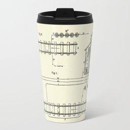 Electric Railway Signals-1874 Travel Mug