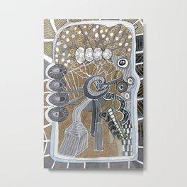 Magical Artificial Tree Metal Print