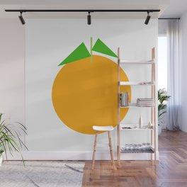 Ji Li / Orange Wall Mural
