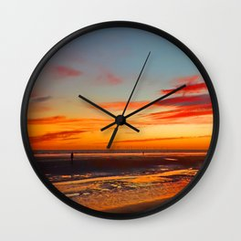 After Glow Wall Clock