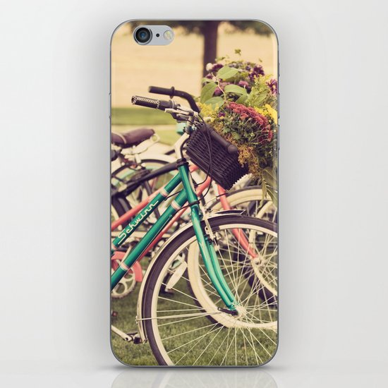 Flower Baskets iPhone & iPod Skin
