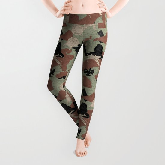 Endor Battle Camo Leggings