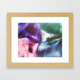 Multi swirls Framed Art Print