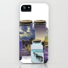Bottled World iPhone Case