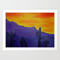 mexico Art Prints featuring Mexico by Monica Georg-Buller