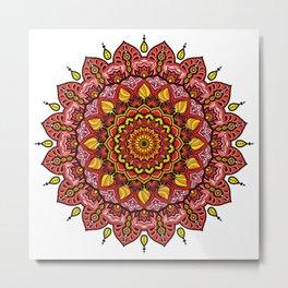 Mandala Passione Metal Print