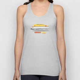 Korben's Cab from the Fifth Element Movie Unisex Tank Top
