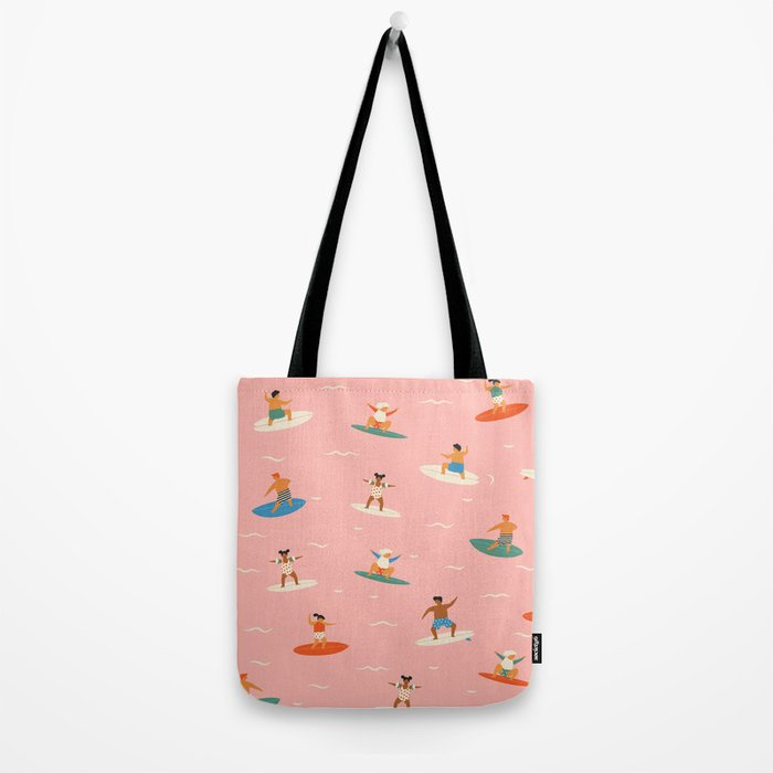 Surf kids Tote Bag
