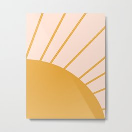 hi there sun Metal Print