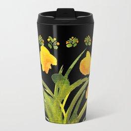 Atom Flowers #34 Travel Mug