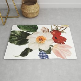 Spring Flowers Bouquet Rug