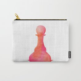 Chess Pawn Watercolor Carry-All Pouch