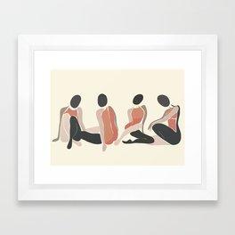 Woman Forms Framed Art Print