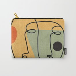 Abstract Faces 19 Carry-All Pouch