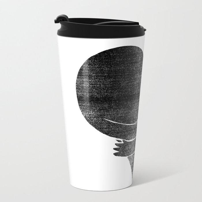 Illustrations / Love Metal Travel Mug