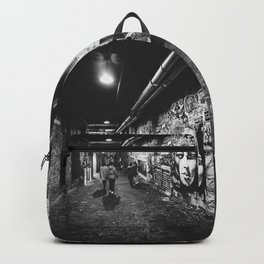 Seattle, Post Alley murals Backpack