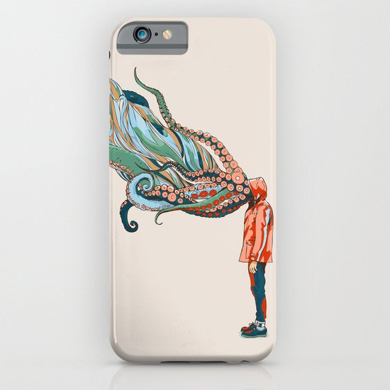 Octopus in me iPhone & iPod Case