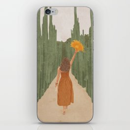 A Way Through the Cactus Field iPhone Skin