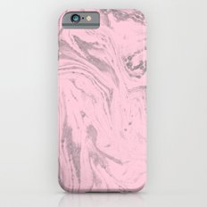 Pink Grey Marble iPhone 6s Slim Case