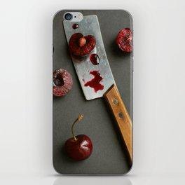 Cherries and Mini Cleaver iPhone Skin