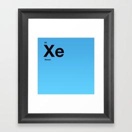 Xenon Framed Art Print