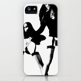 Two Sexy Girls Playing iPhone Case