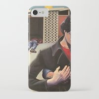 mid century modern iPhone & iPod Cases featuring Mid Century Modern by Popcorn Jones
